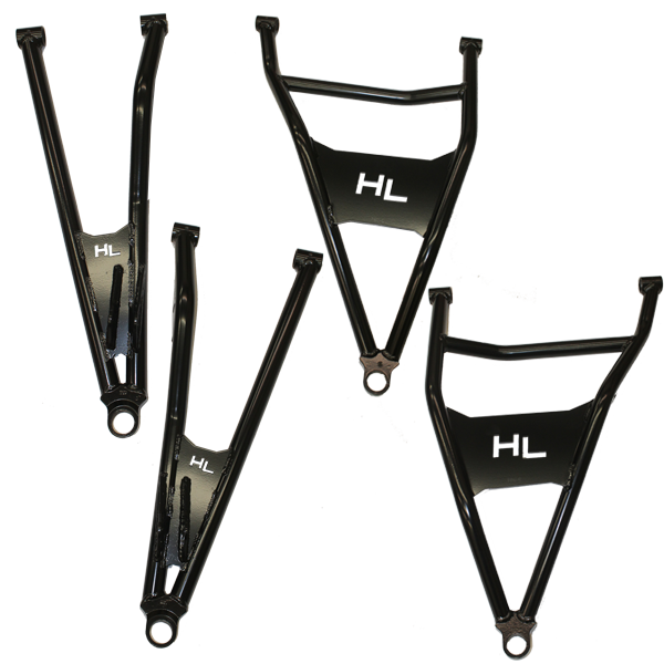 "HighLifter Front Forward Upper & Lower Control Arms Can-Am Maverick X3 (72"" models)"