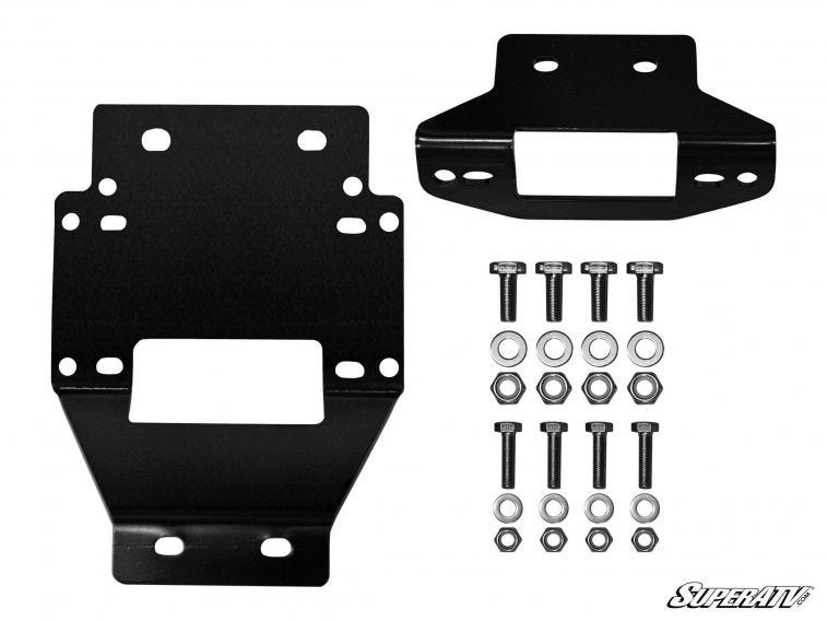 Polaris RZR XP 900 Winch Mounting Plate For 3500 Lb. Winches