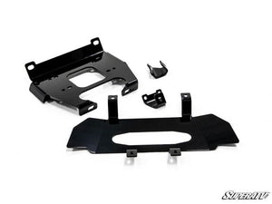 Polaris RZR XP Turbo Winch Mounting Plate