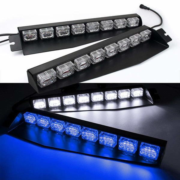 Off Road  Led Work Light  12 Volt Led Lighting  Lightbar Blue 48LED 48W Led Light Bar