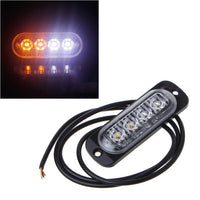 4LED DC 12V-24V Car Emergency Strobe Light Bar Warning Flash Flashing Lightbar Truck Auto Car Headlight