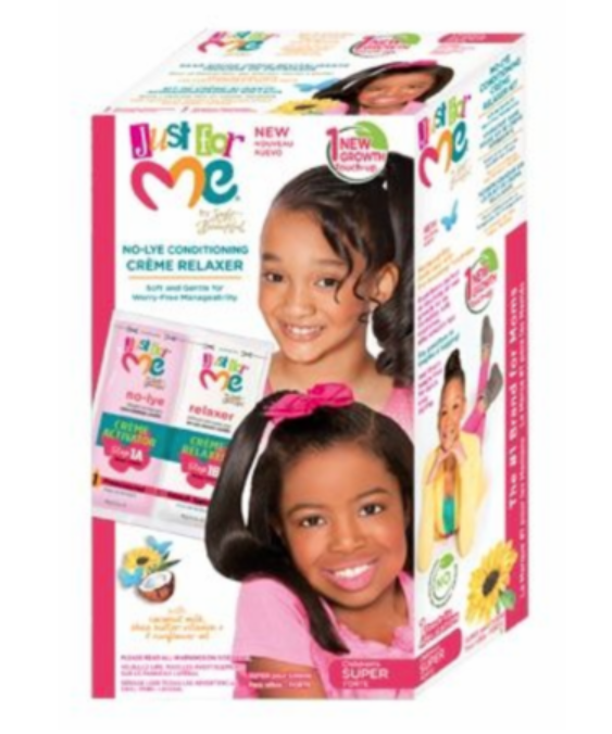 Just for Me No-Lye Touch Up Relaxer Kit  (Reg & Super)