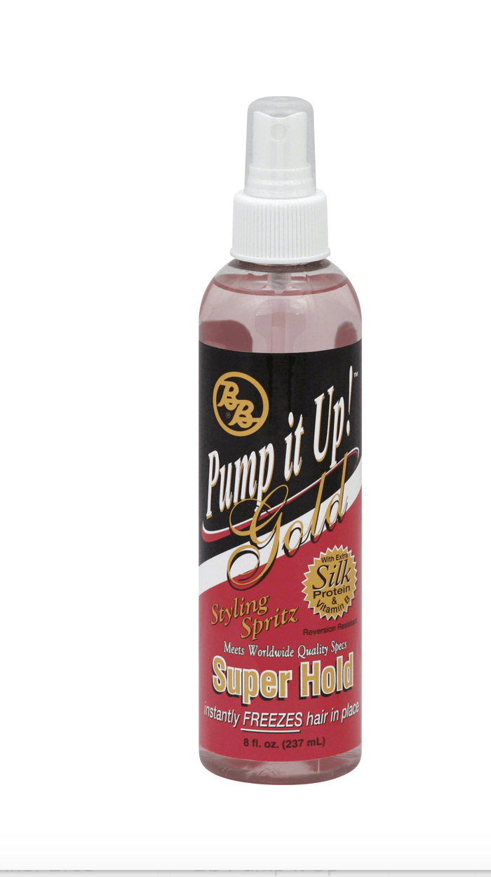 Bronners Brothers Pump it Up Spritz Super Hold 8 oz