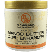 Bronner Bros Mango Butter Curl Enhancer 6 oz.