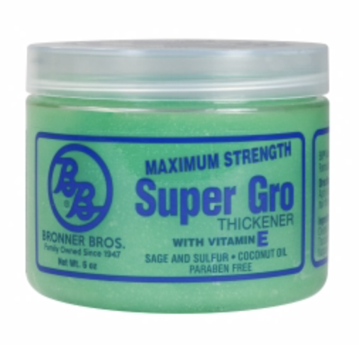 Bronner Brothers Super Gro - Max Strength 6 oz - BPolished Beauty Supply