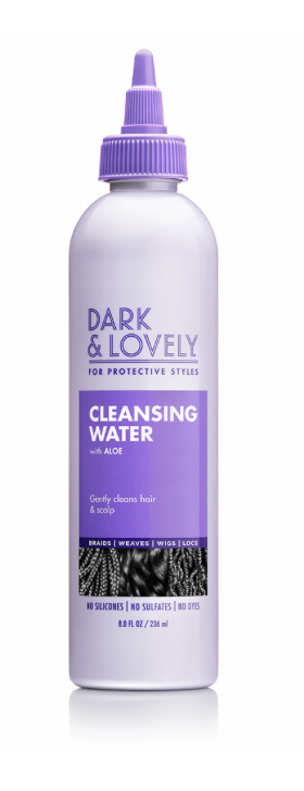 Dark & Lovely Protective Styles Cleansing Water  8 oz