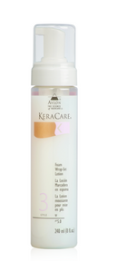 KeraCare Foam Wrap-Set Lotion 8 fl oz - BPolished Beauty Supply