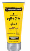 Got2b Glued Spiking Max Hold Hair Styling Glue Gel, 6oz