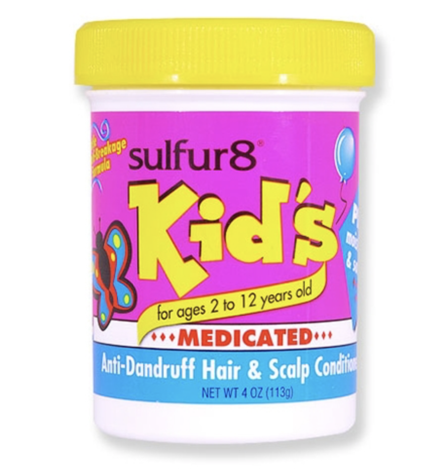 Sulfur8 Kids Kids Medicated Scalp Conditioner 4 oz