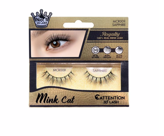 Ebin Mink Cat 3D Lashes (Assorted Kinds)