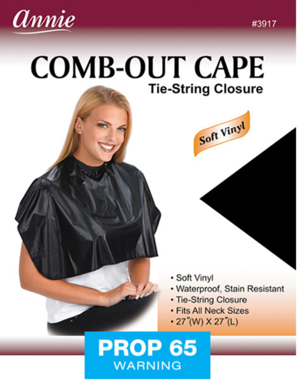 Annie Comb-Out Cape Tie String Closure #3917