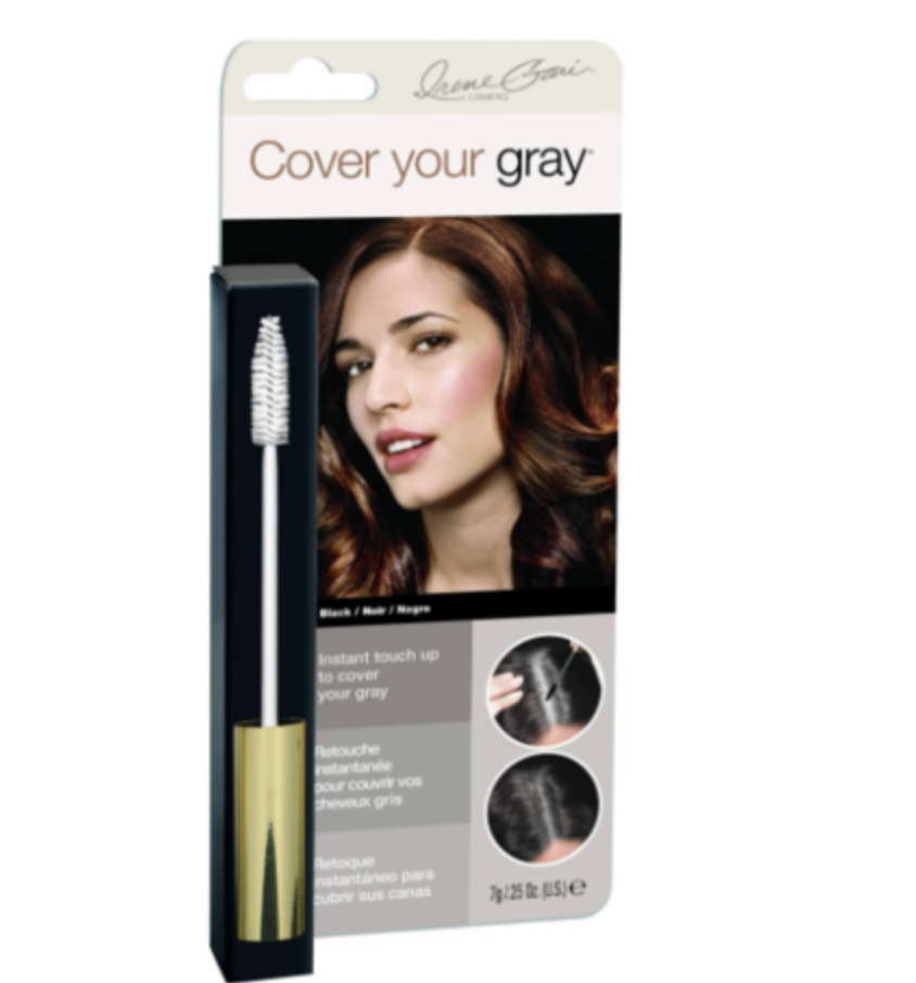 Cover Your Gray Brush In Mascara Wand Hair Touch Up Black 0.25 oz