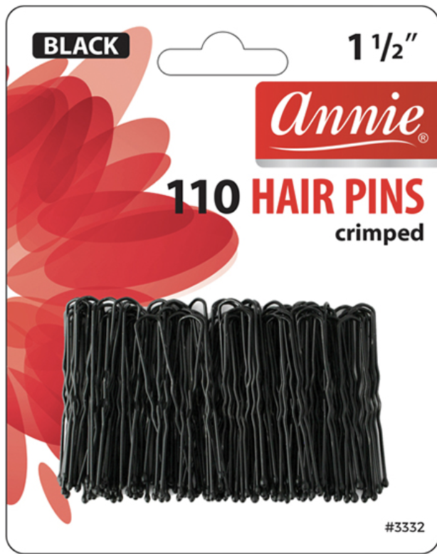 Annie Hair Pins Crimped 1 1/2""