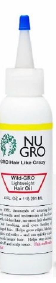 NUGRO Wild-Gro Light W Hair Oil 4 fl oz