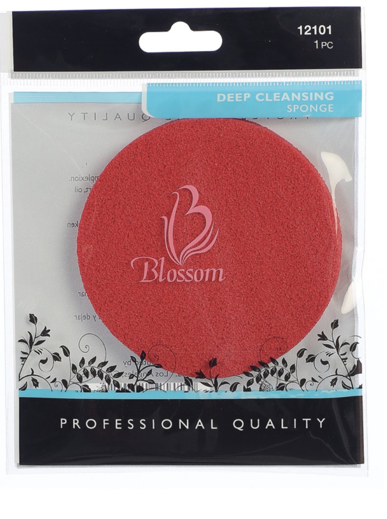 Blossom Sponge Red Deep Cleansing #12101