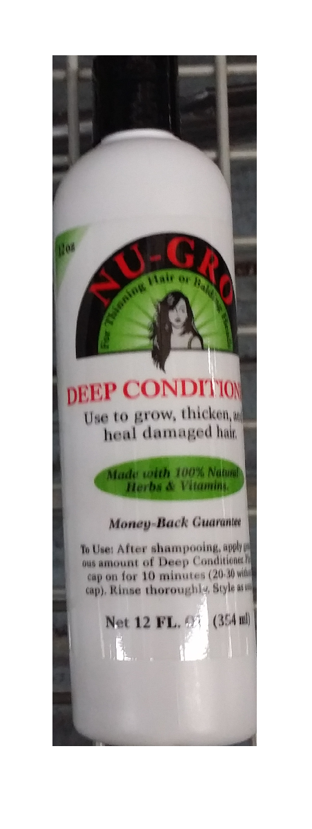 NUGRO Deep Conditioner 12 oz