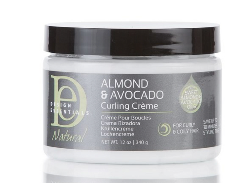 Design Essentials Natural Almond & Avocado Curling Cream 12 oz - BPolished Beauty Supply