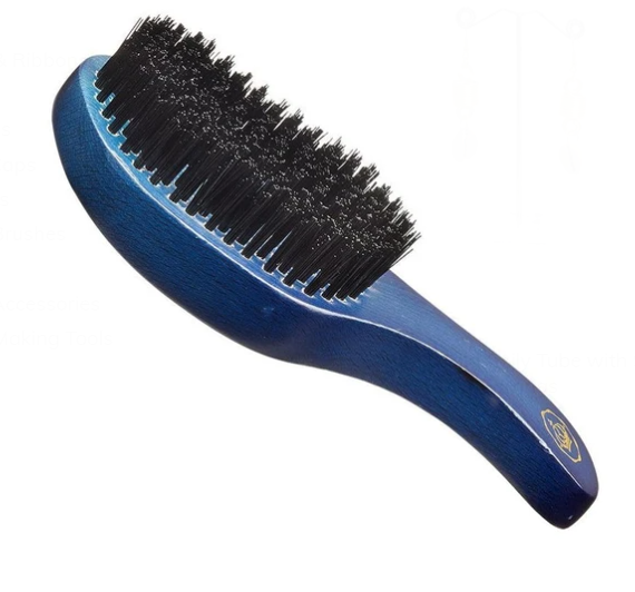 RED PREMIUM | 360 Power Wave Club Boar Brush (Hard)