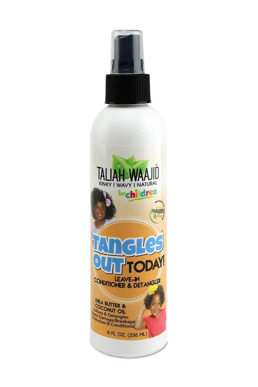 Taliah Waajid Kids Tangles Out Today Leave In Conditioner & Detangler 8 oz