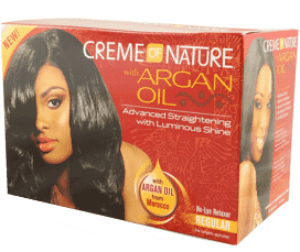 Creme of Nature Argan Oil No Lye Relaxer - Regular
