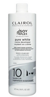 Clairol Soy 4 Plex Pure White Creme Developer 10 Volume 16 oz