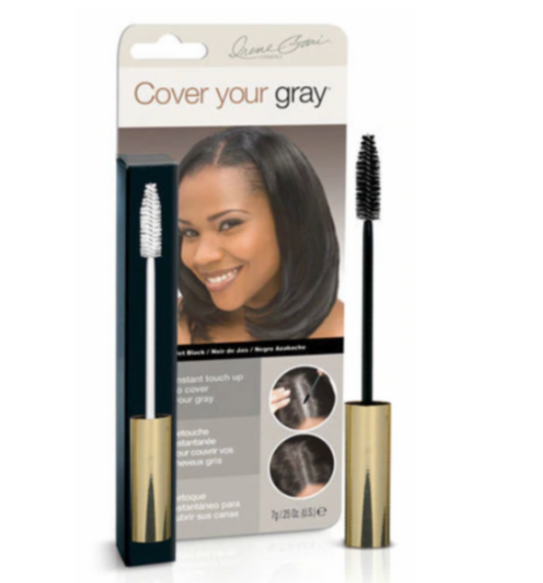 Cover Your Gray Brush In Mascara Wand Hair Touch Up Jet Black 0.25 oz - BPolished Beauty Supply