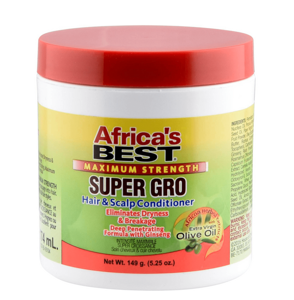 Africa's Best Super Gro Maximum Strength 5.25 oz - BPolished Beauty Supply