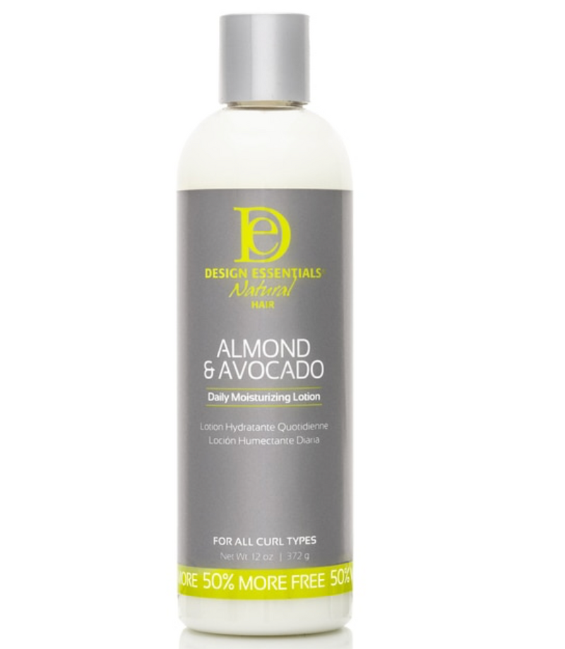 Design Essential Natural Almond & Avocado Lotion 7.5 oz - BPolished Beauty Supply