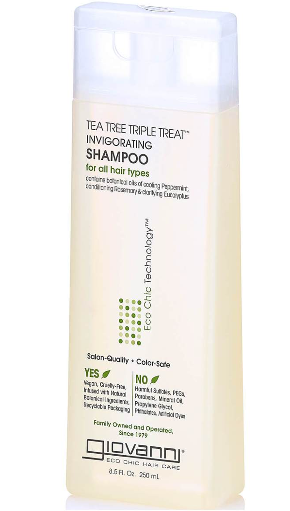 Giovanni Tea Tree Triple Treat Shampoo 8.5 oz - BPolished Beauty Supply