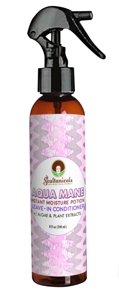 Soultanicals Aqua Mane Leave in 8 oz