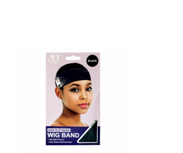 Ana Beauty Velvet Wig Band (Black & Light Brown) - BPolished Beauty Supply