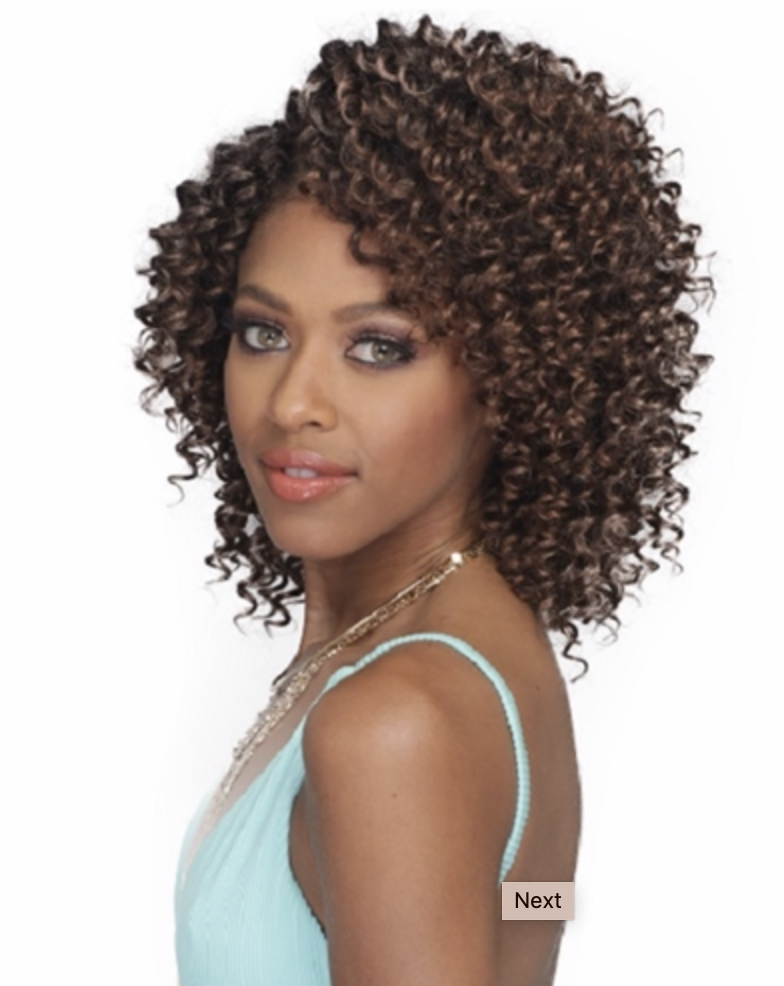 "Bobbi Boss Brazilian Beach Wave 6"" 2x"