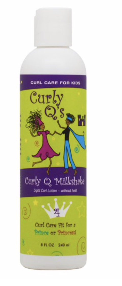 Curly Q Milkshake 8 fl oz - BPolished Beauty Supply