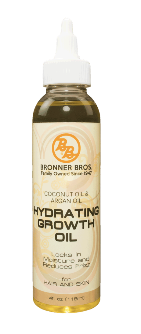Bronner Bros Hydrating Growth Oil w/coconut & Argan Oil 4oz