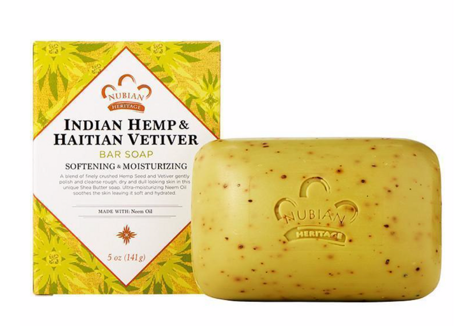 Nubian Indian Hemp & Haitian Soap 5 oz
