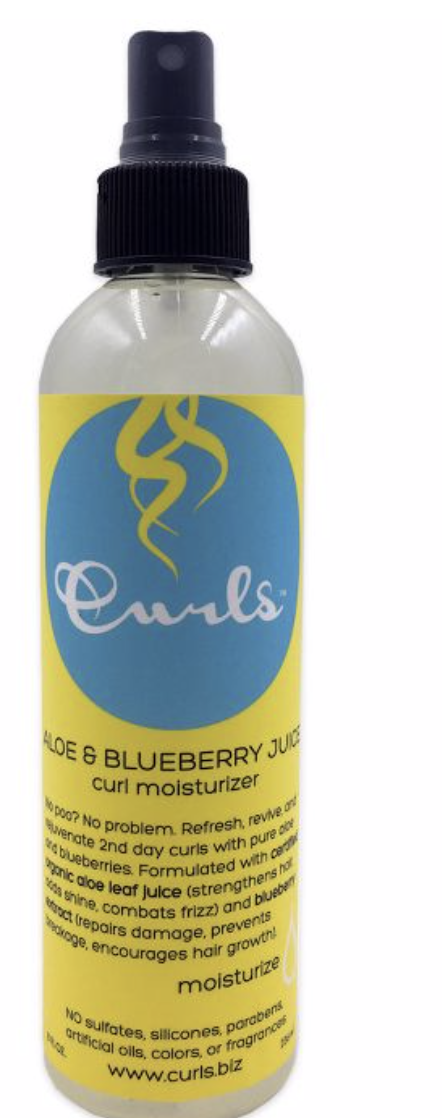 Curls Blueberry Aloe Curl Mist 8 fl o - BPolished Beauty Supply