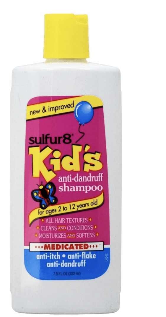 Sulfur8 Kids Anti-Dandruff Shampoo 7.5 oz - BPolished Beauty Supply