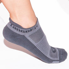 Load image into Gallery viewer, HIGH SPEED SOCKS, GRAY/CHARCOAL