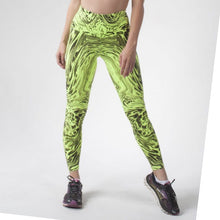 Load image into Gallery viewer, SCULPT PANT, GREEN/BLACK