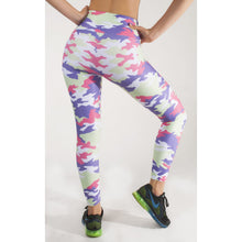 Load image into Gallery viewer, BOLD PANT, MULTICOLOR CAMOUFLAGE