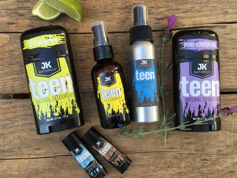 Best All Natural, Organic Deodorant For Teens and Tweens
