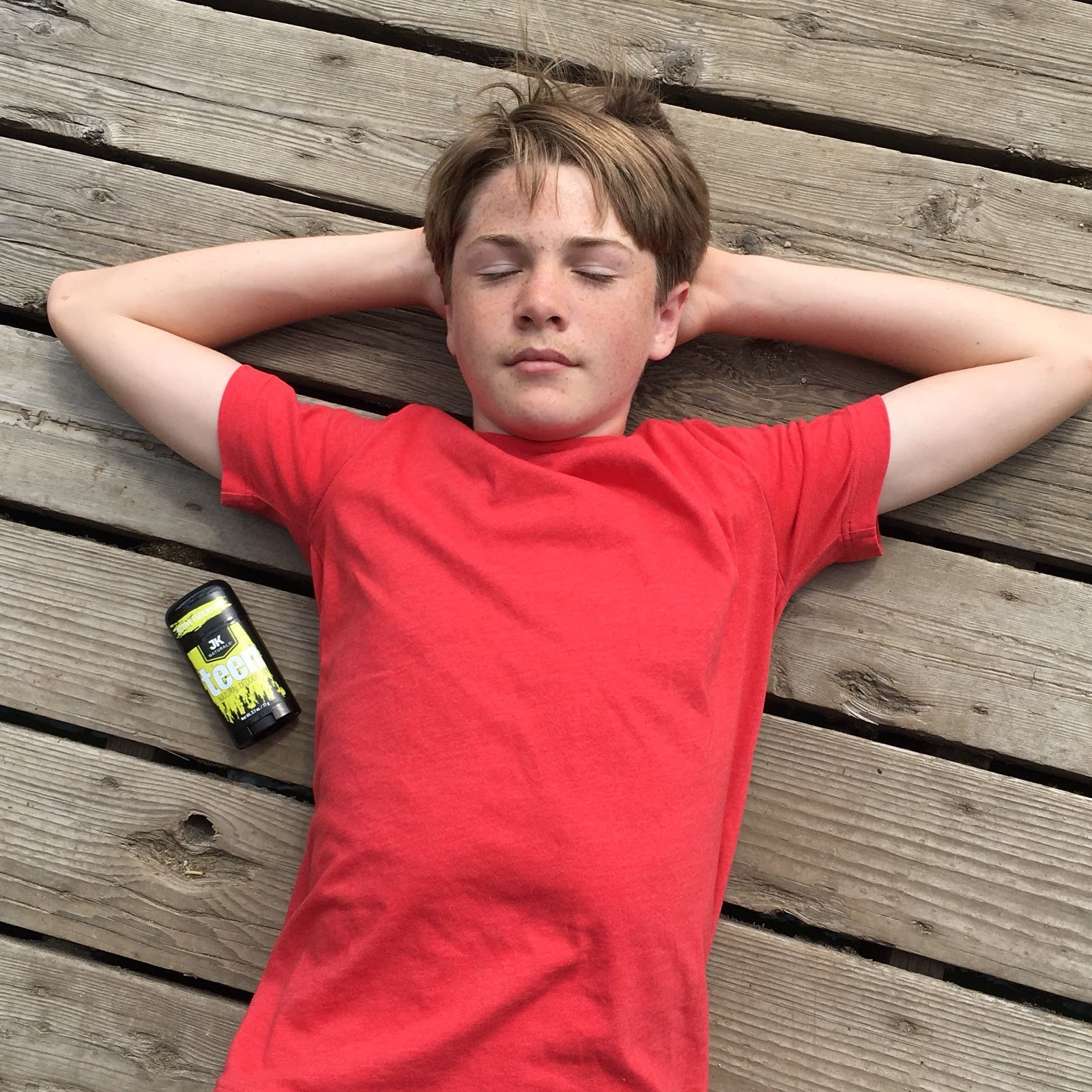 Sweat and Body Odor: Why Does My Child Need Deodorant?