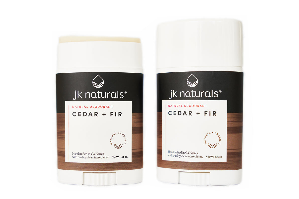 Best Natural Deodorant Stick | Cedar + Fir
