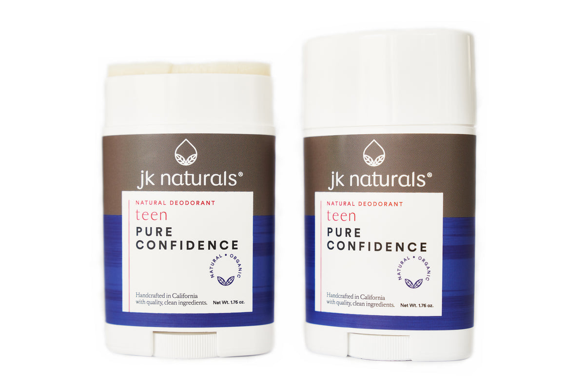 Best Teen Deodorant Stick | Pure Confidence | Blood Orange + Lavender