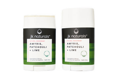 Best Natural Deodorant Stick | Amyris, Patchouli + Lime