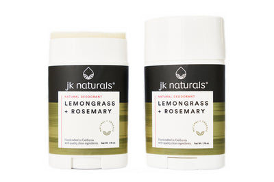 Best Natural Deodorant Stick | Lemongrass + Rosemary