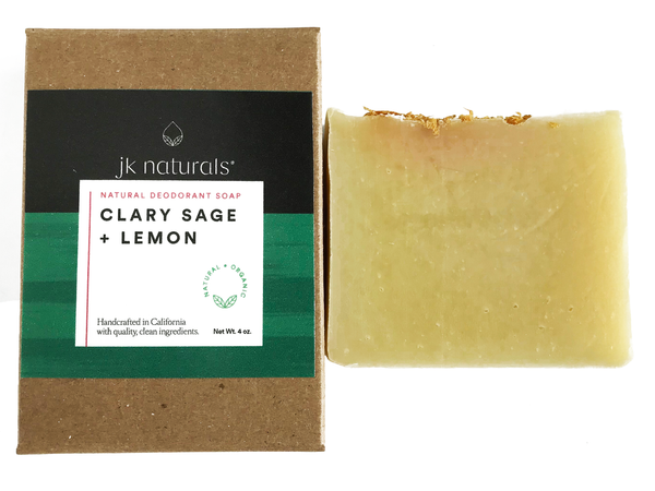 Bar Soap - Clary Sage + Lemon