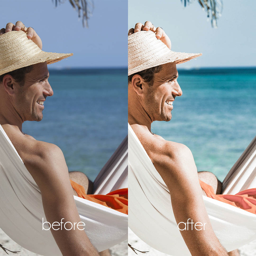 SUN TAN (Mobile + Desktop Lightroom Presets)