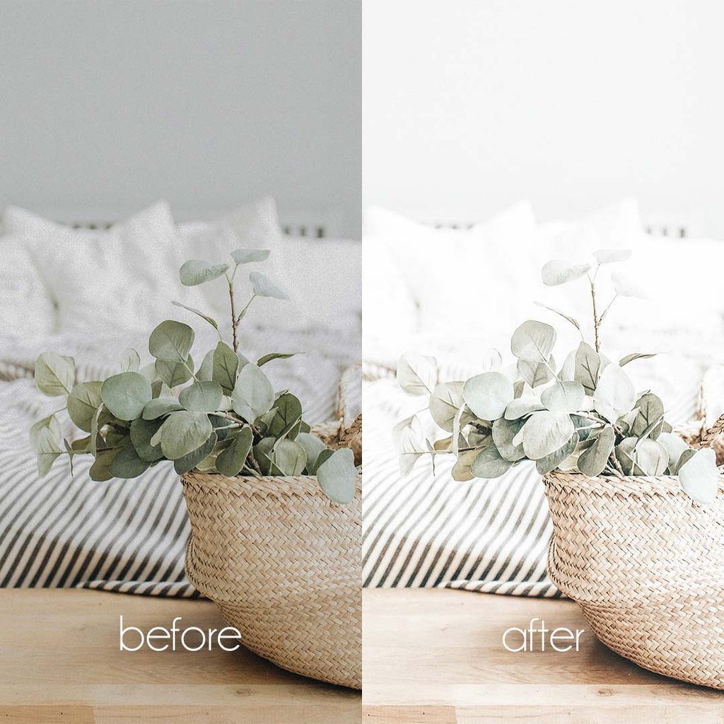 LIGHT & AIRY (Mobile + Desktop Lightroom Presets)