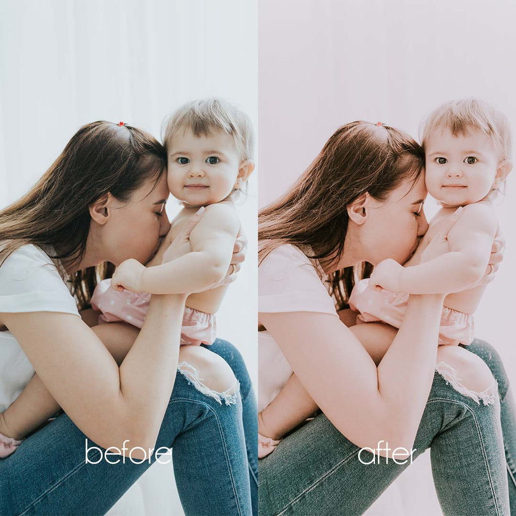 BABY BABY (Mobile + Desktop Lightroom Presets)